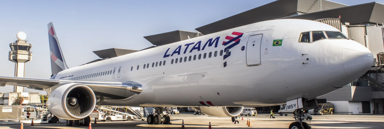 LATAM Brazil Boeing 767 at Guarulhos International Airport GRU