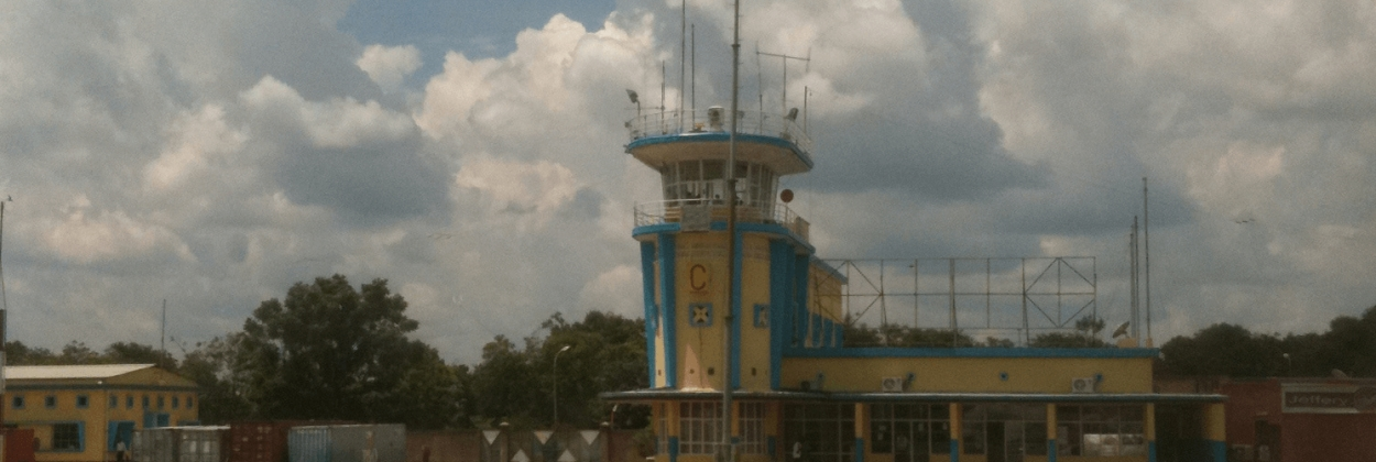 Aircraft collides with motorbike on Congolese runway