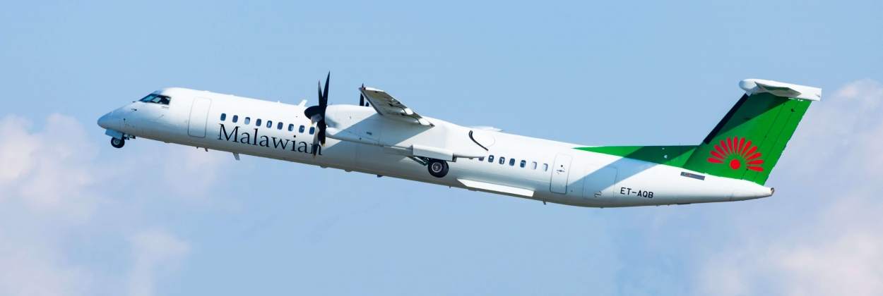 Malawian Airlines Dash 8-400