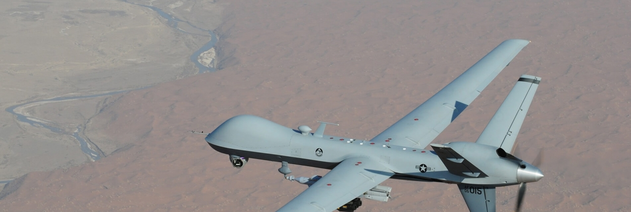 Two US drones reportedly collided and crashed in Syria