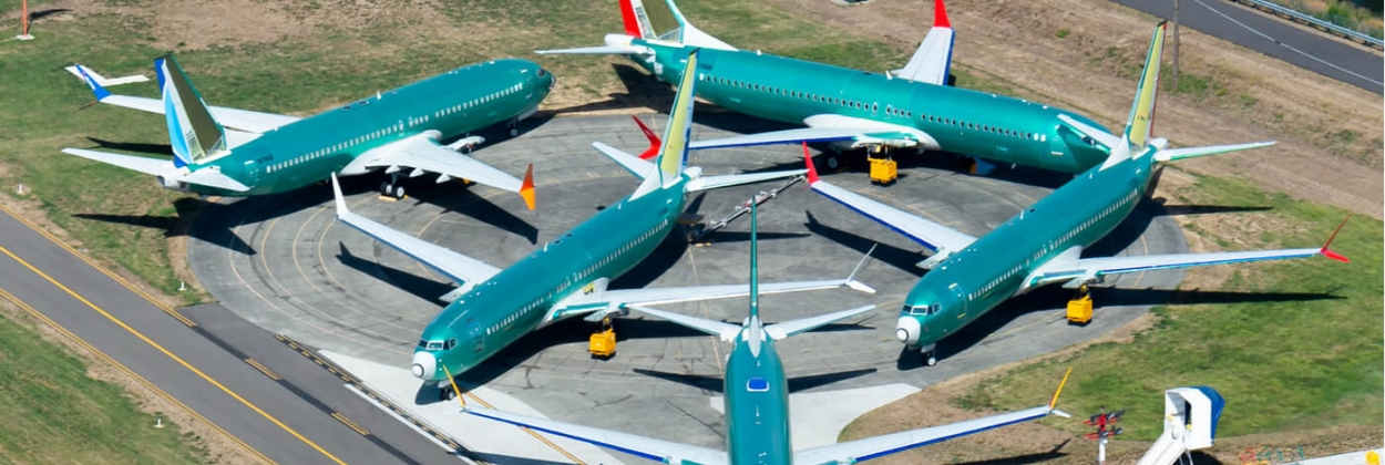 Multiple Boeing 737 MAX outside the assembly line parked at Renton Airport aerotime aviation news