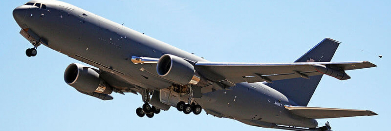 The US Air Force takes delivery of long awaited Boeing KC-46A