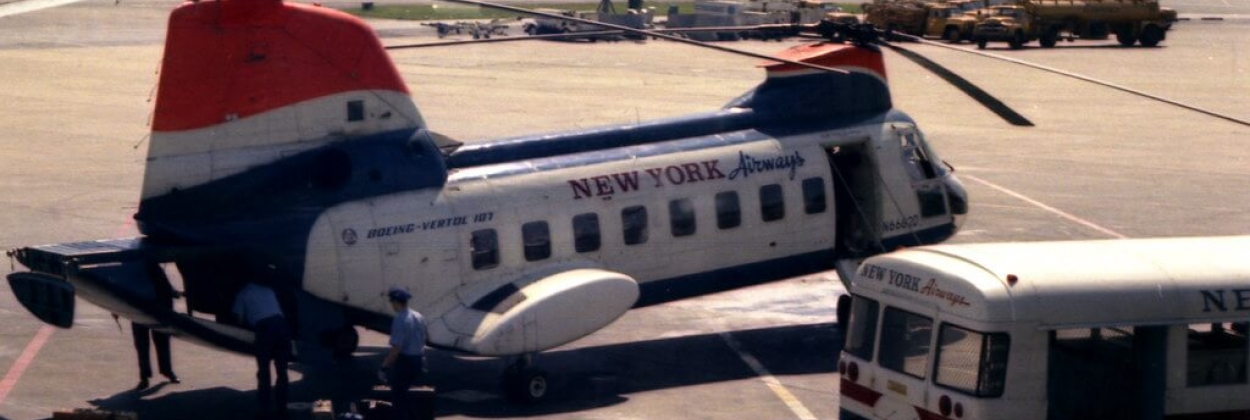 Defining urban travel in 1950s: the story of New York Airways