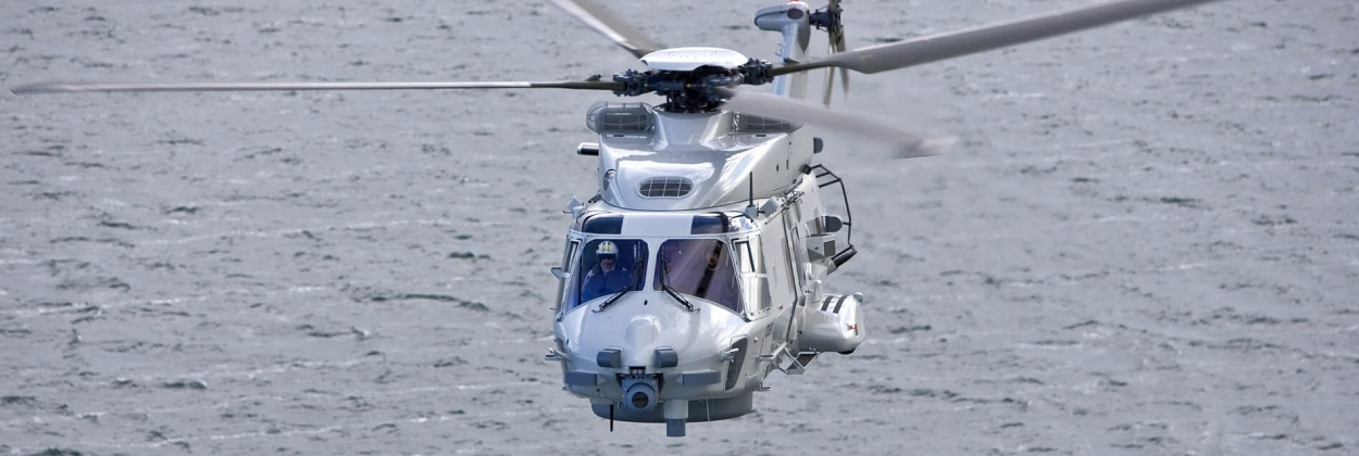 Dutch Navy helicopter crashes in Caribbean Sea, two pilots dead