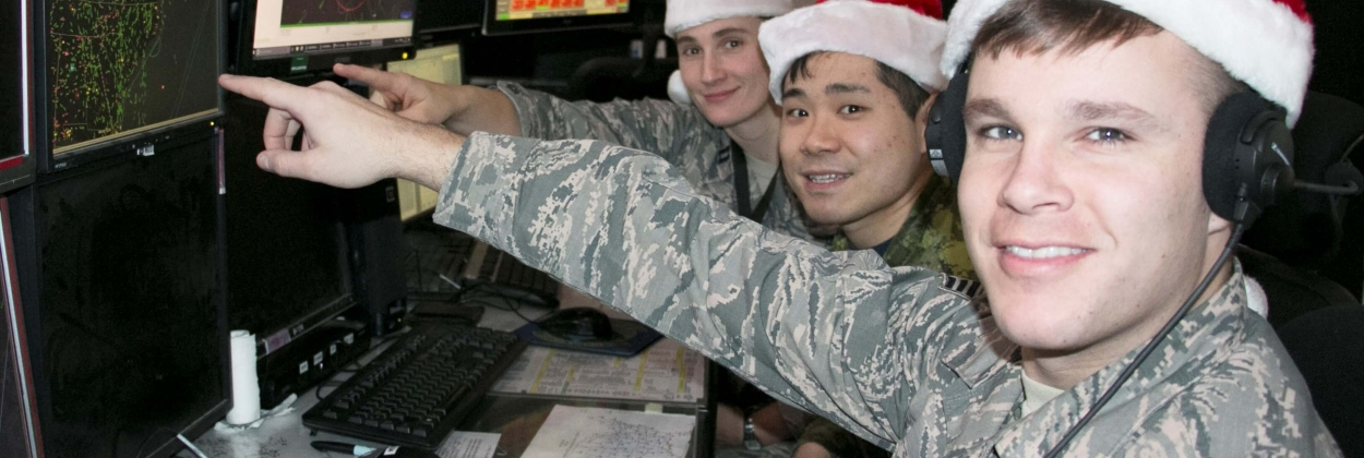 NORAD gets ready to track Santa's journey live