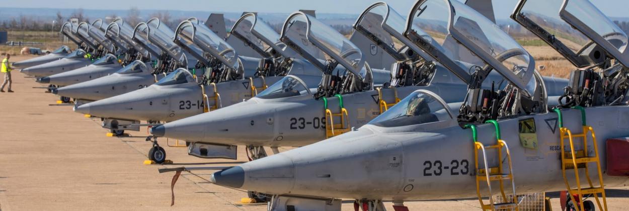 Airbus unveils new training and light combat aircraft for Spain