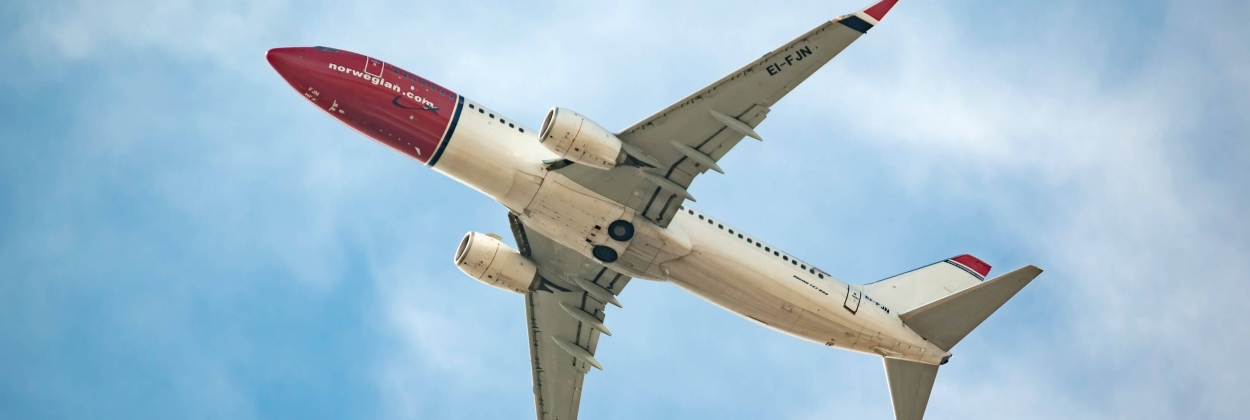 "Norwegian Air ""fighting for survival"" as it reports 94% traffic f"