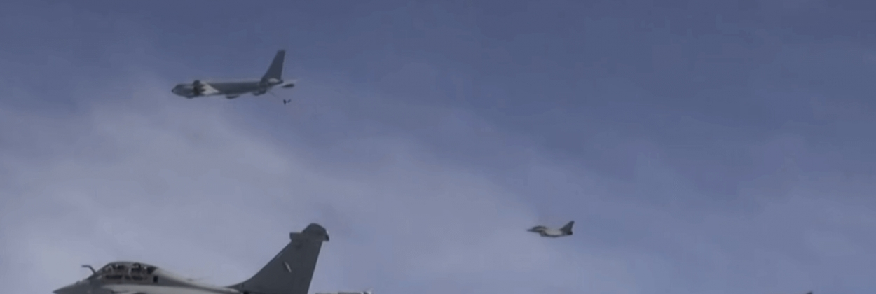 First daytime test in 57 years for French nuclear air forces