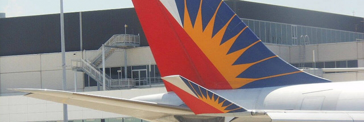 Philippine Airlines Logo on Tail