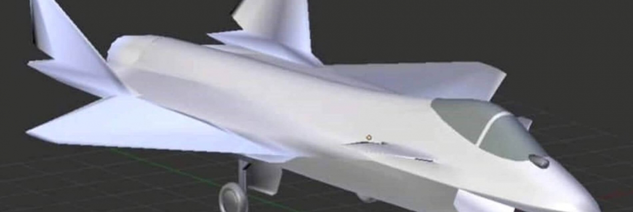 Possible look of the upcoming Sukhoi jet