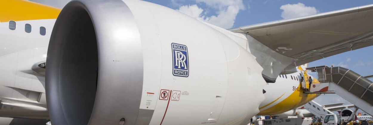 Rolls-Royce Trent 1000 on Scoot Boeing 787-9 Dreamliner