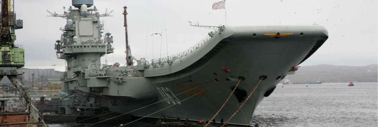 Fraud suspected amid Russia's only aircraft carrier repair