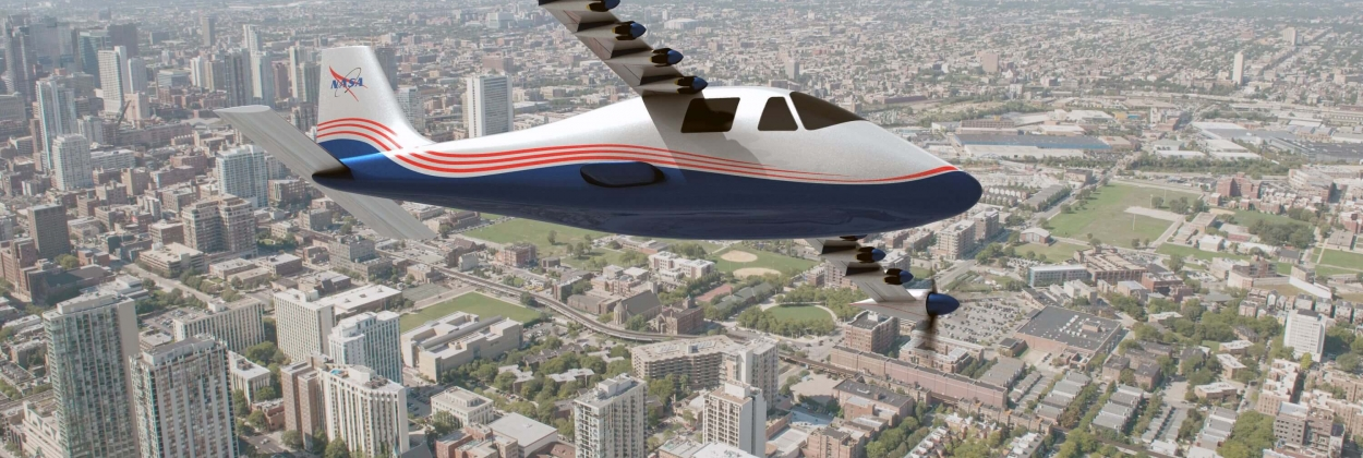 NASA takes delivery of its first all-electric X-plane