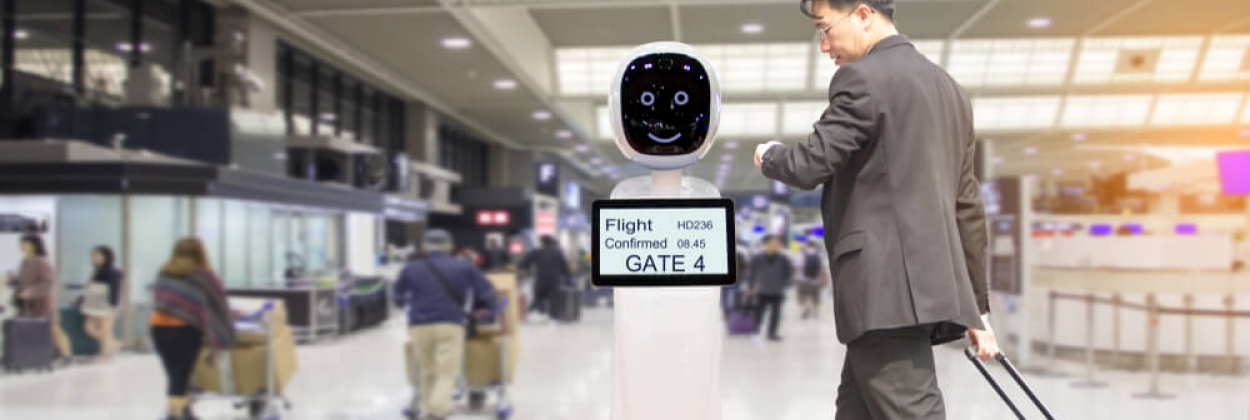 Humans need not apply: robots are taking over airports