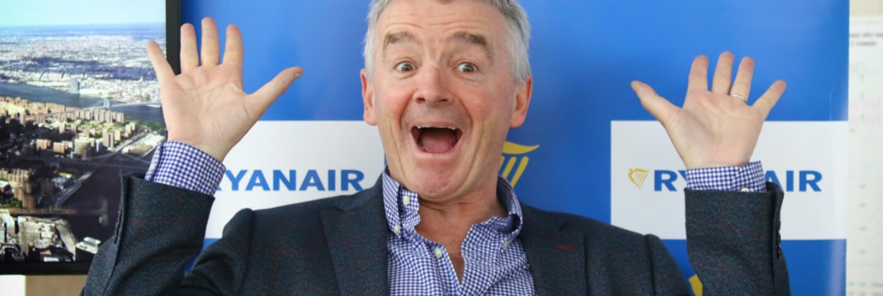 Ryanair Chief Executive Officer Michael O'Leary aerotime news