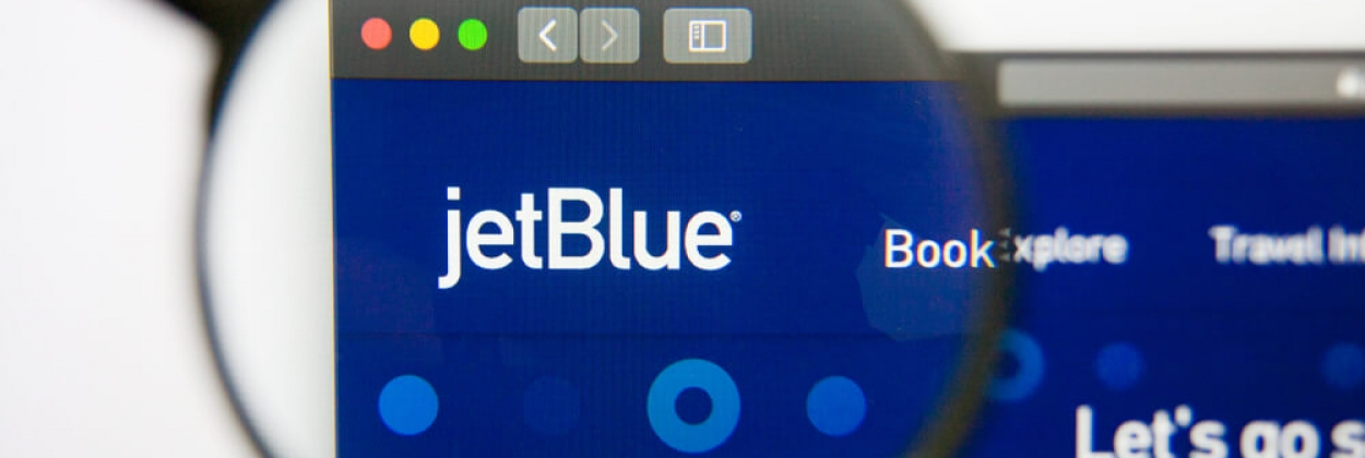 JetBlue Airways airline website homepage