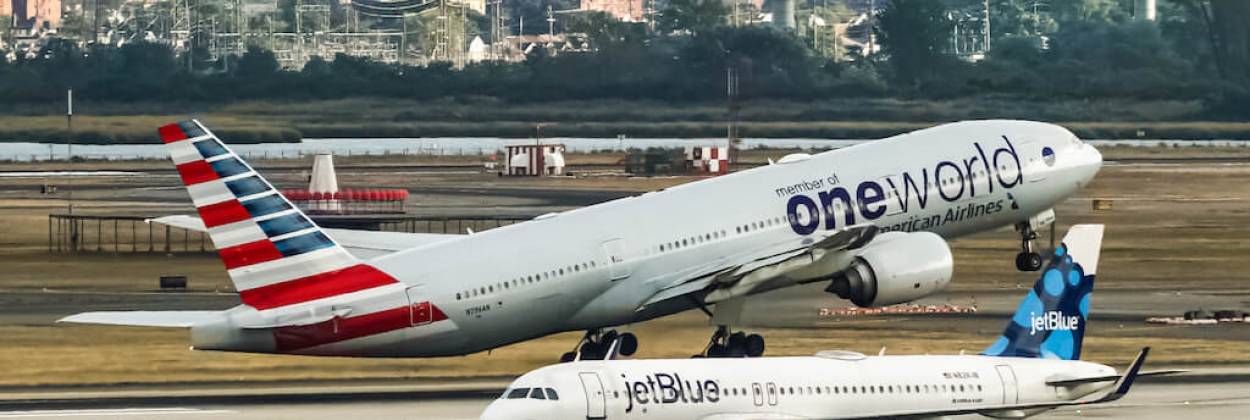 US Department of Justice sues to stop American Airlines and JetBlue partnership
