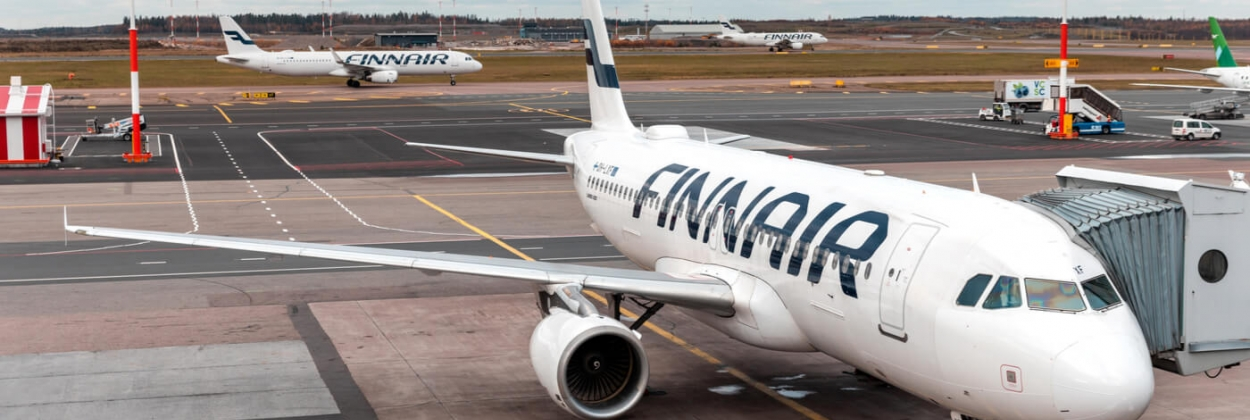 Flight attendant falls from Finnair A320 in Helsinki