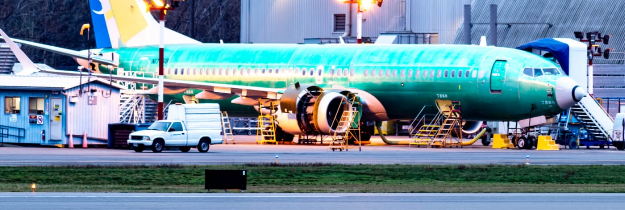 Boeing 737 MAX at Renton airport plant in December 2019 aerotime