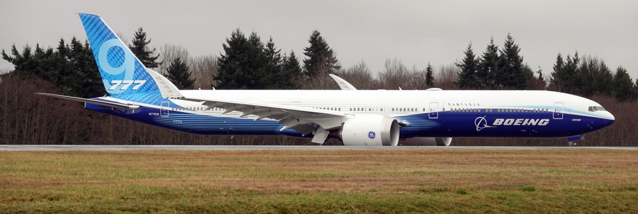 Boeing reportedly resumes 777X flight test campaign