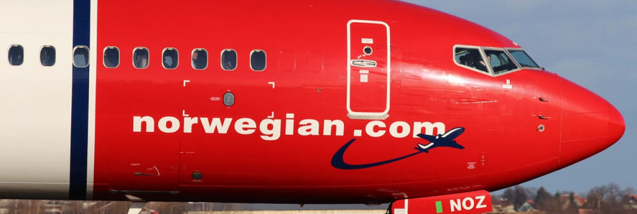 Norwegian Air Shuttle aircraft