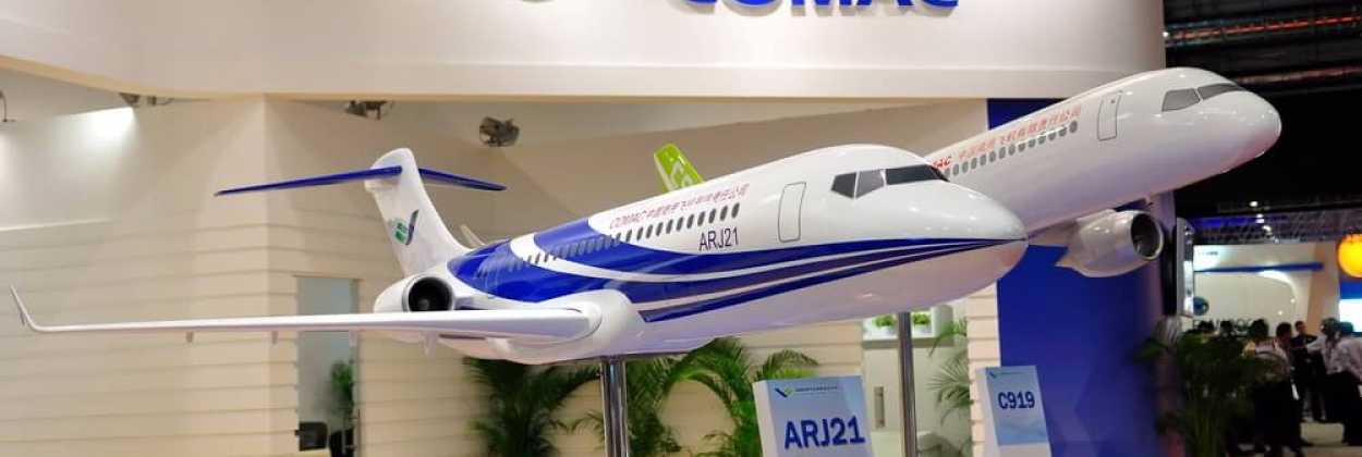 Commercial Aircraft Corporation of China (COMAC) ARJ21 and C919 p