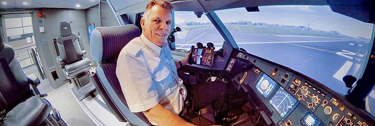 Meet Captain Chris Pohl who used Instagram to support the aviation industry