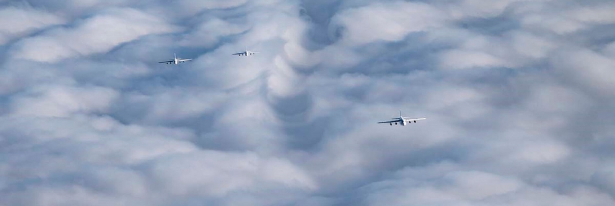 Russia carries out largest Antonov An-124 formation flight ever