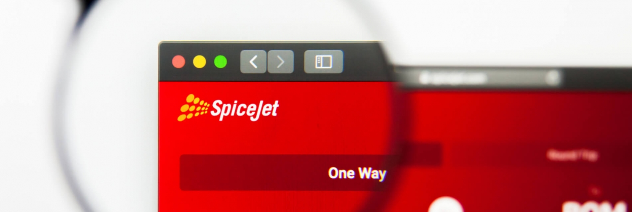 SpiceJet website to book flights
