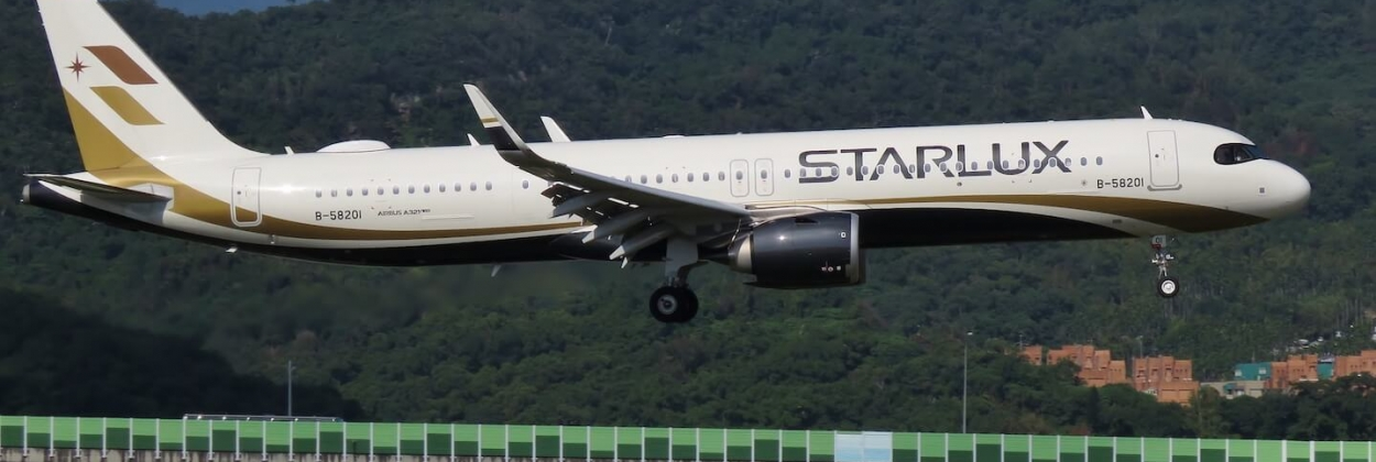 Starlux Airlines Airbus A321