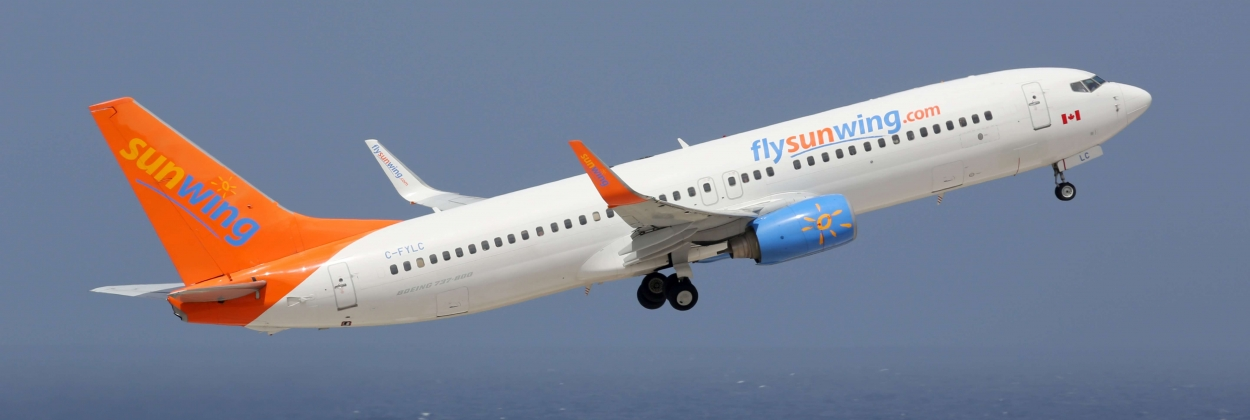 Sunwing Airlines takes delivery of two Boeing 737 MAX