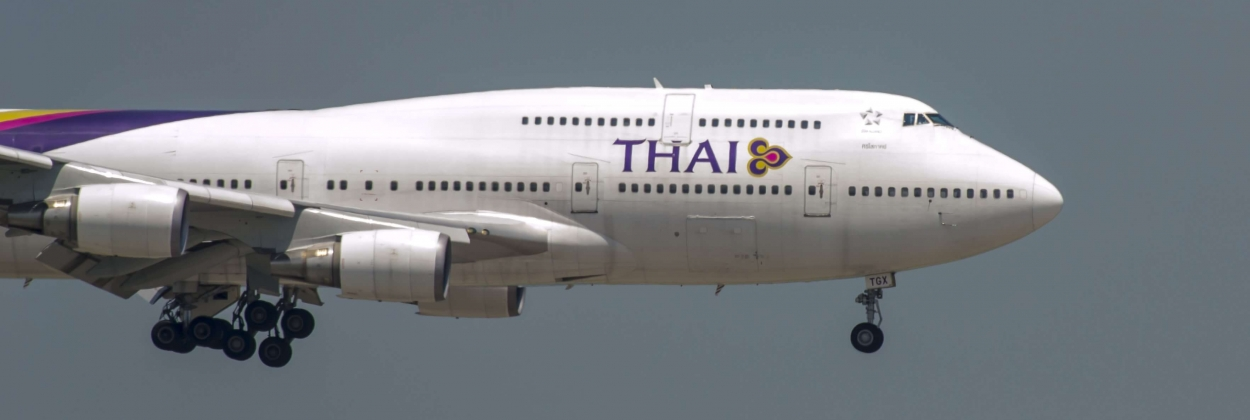 Thai Airways listed 10 Boeing 747 aircraft up for sale