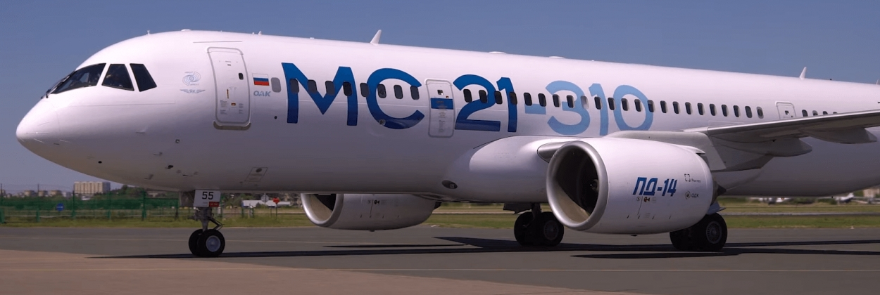 Fourth MC-21 testbed resumes testing after receiving livery
