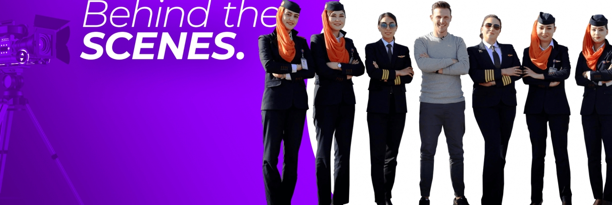 AeroTime Behind the Scenes | Afghanistan's first all-female flight