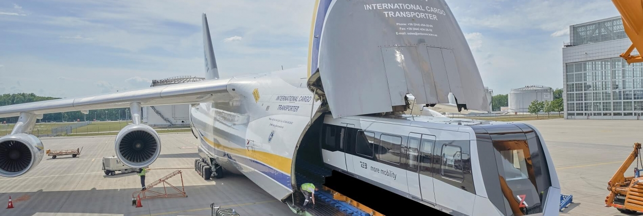Antonov Airlines makes trains fly
