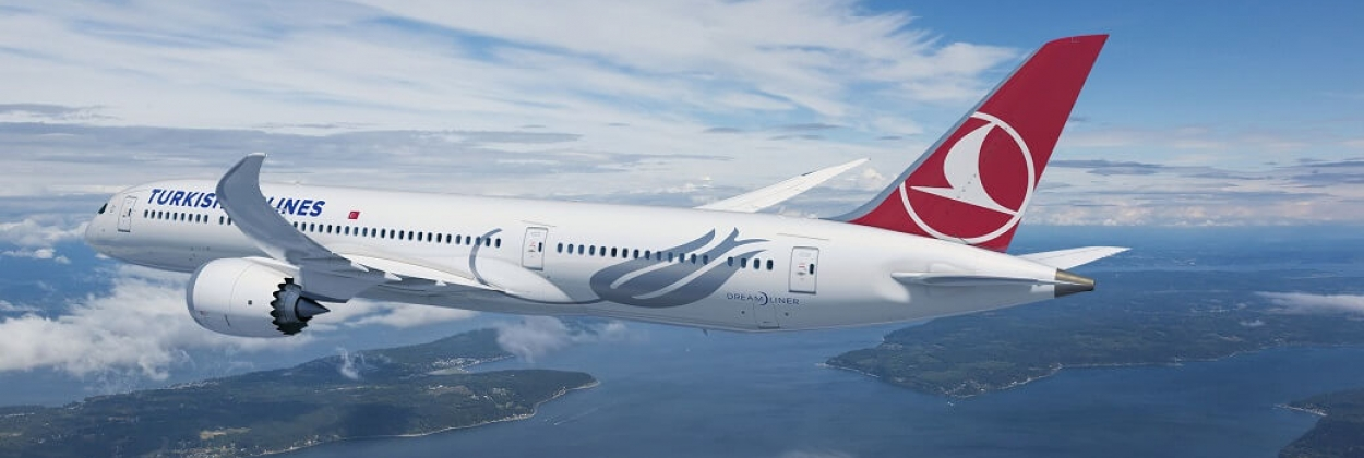 Turkish Airlines charms with new Boeing 787 Dreamliner interior