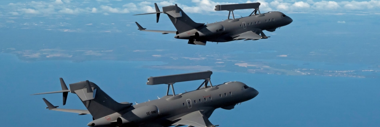 UAE place order for two more Saab surveillance planes