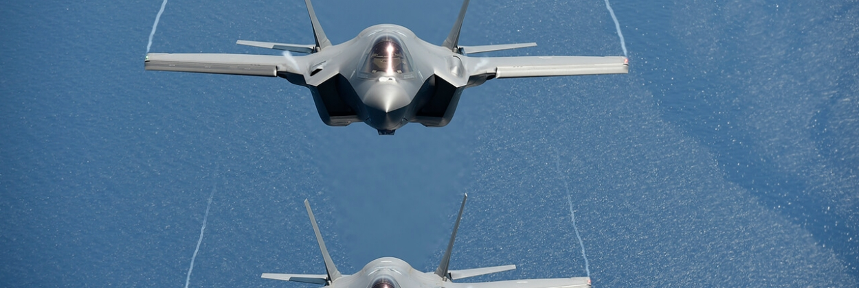 First NATO's Baltic Air Policing intercept by Italian F-35A fighters