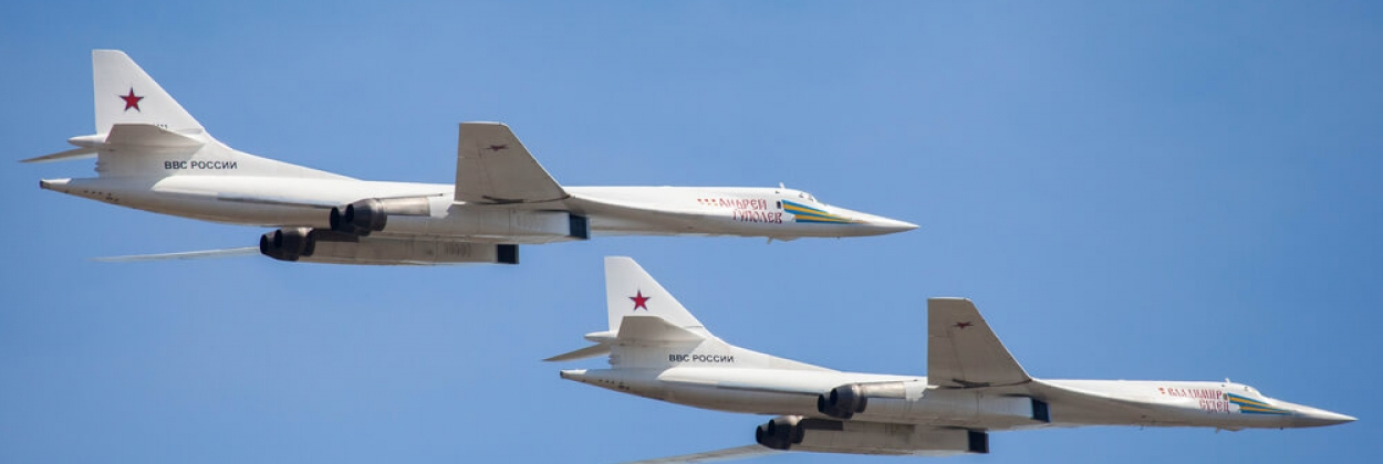 Bomber diplomacy: visit of two Russian Tu-160s in South Africa