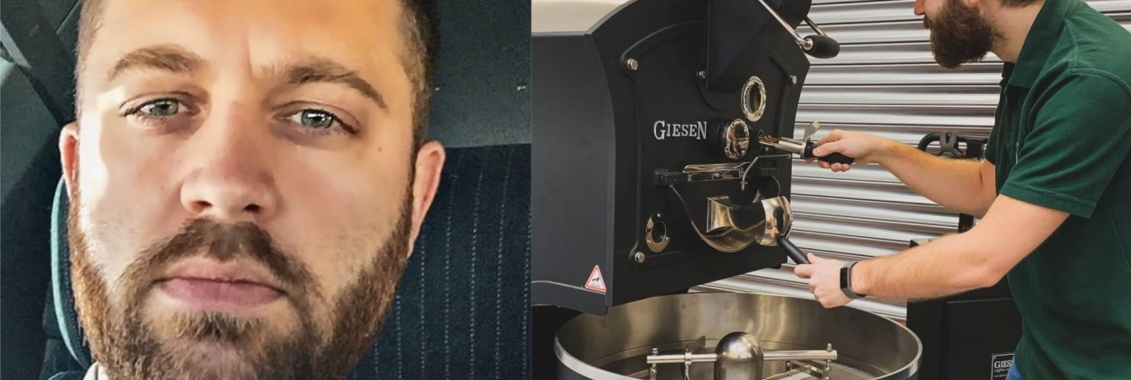 Captain Joe Townshend went from flying to coffee roasting