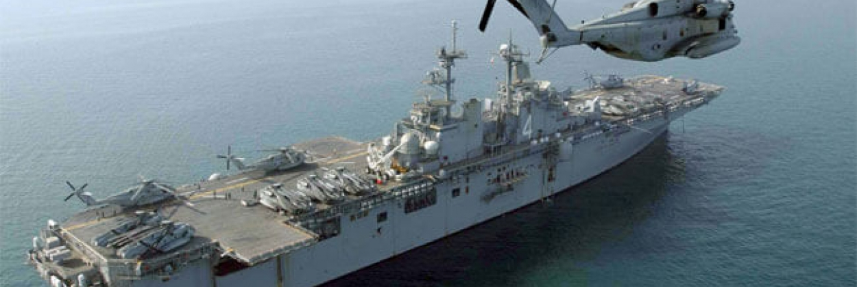 US Navy claims it shot down Iranian drone in the Strait of Hormuz