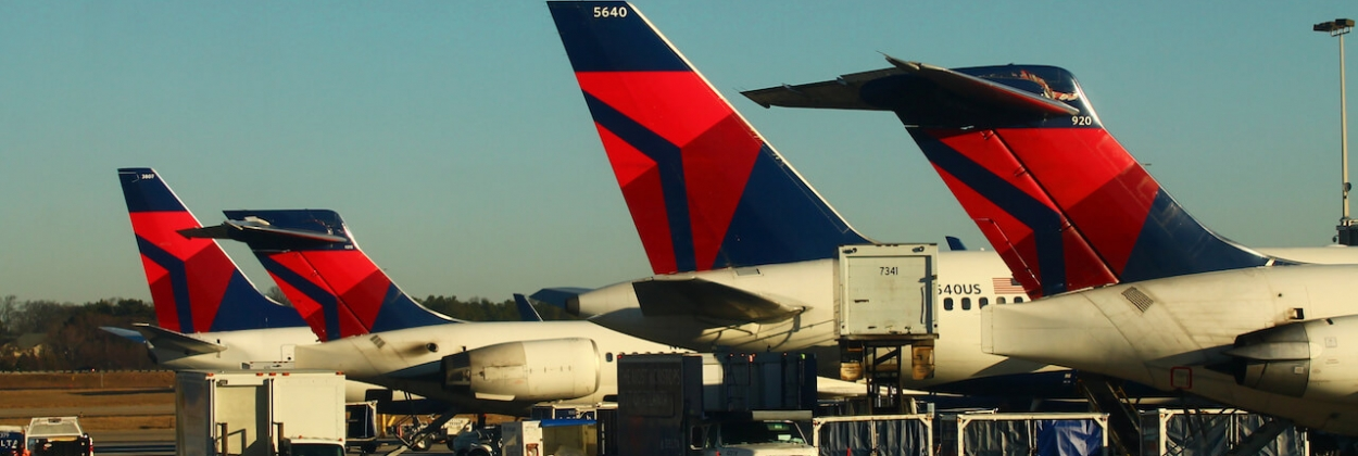 Delta Tails 737, MD90, 757, and MD88