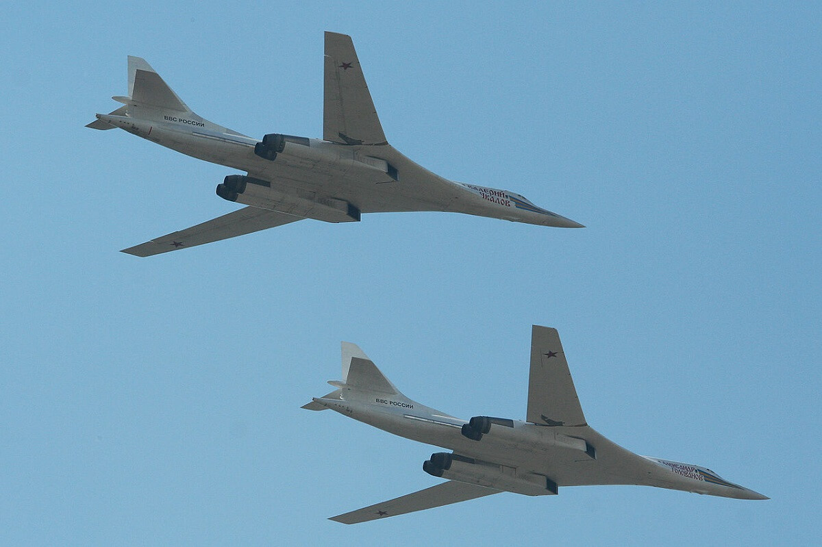 Russia Sends Two Nuclear-capable Tu-160 Bombers To Venezuela
