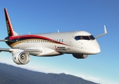 MRJ's third test aircraft completes ferry flight to US