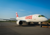 Bombardier C Series aircraft makes its first passenger flight