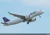 Sky Airline receives A320neo, to replace full fleet by 2021