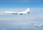 Russian bombers flight around British airspace put RAF on alert