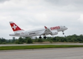 Bombardier delivers world's first C Series aircraft to SWISS