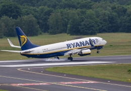 Ryanair, pax up by 8% in October 2017