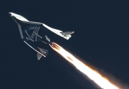 Virgin Galactic moves to Spaceport America